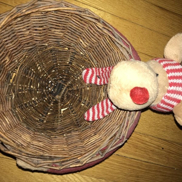 Moose Christmas basket  is being swapped online for free