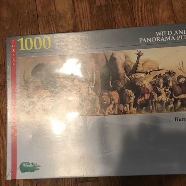 Puzzle - wild animal 1000 pieces is being swapped online for free