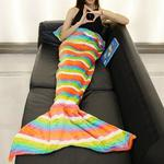 Rainbow mermaid blanket is being swapped online for free
