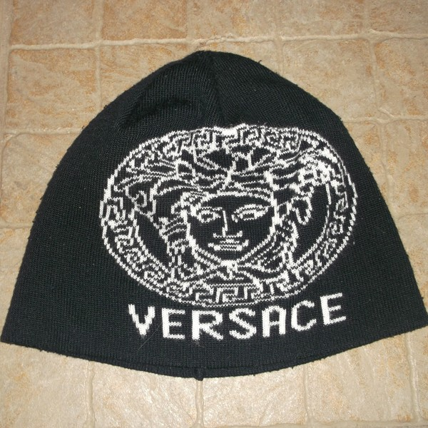 Cute Versace beanie hat :) is being swapped online for free