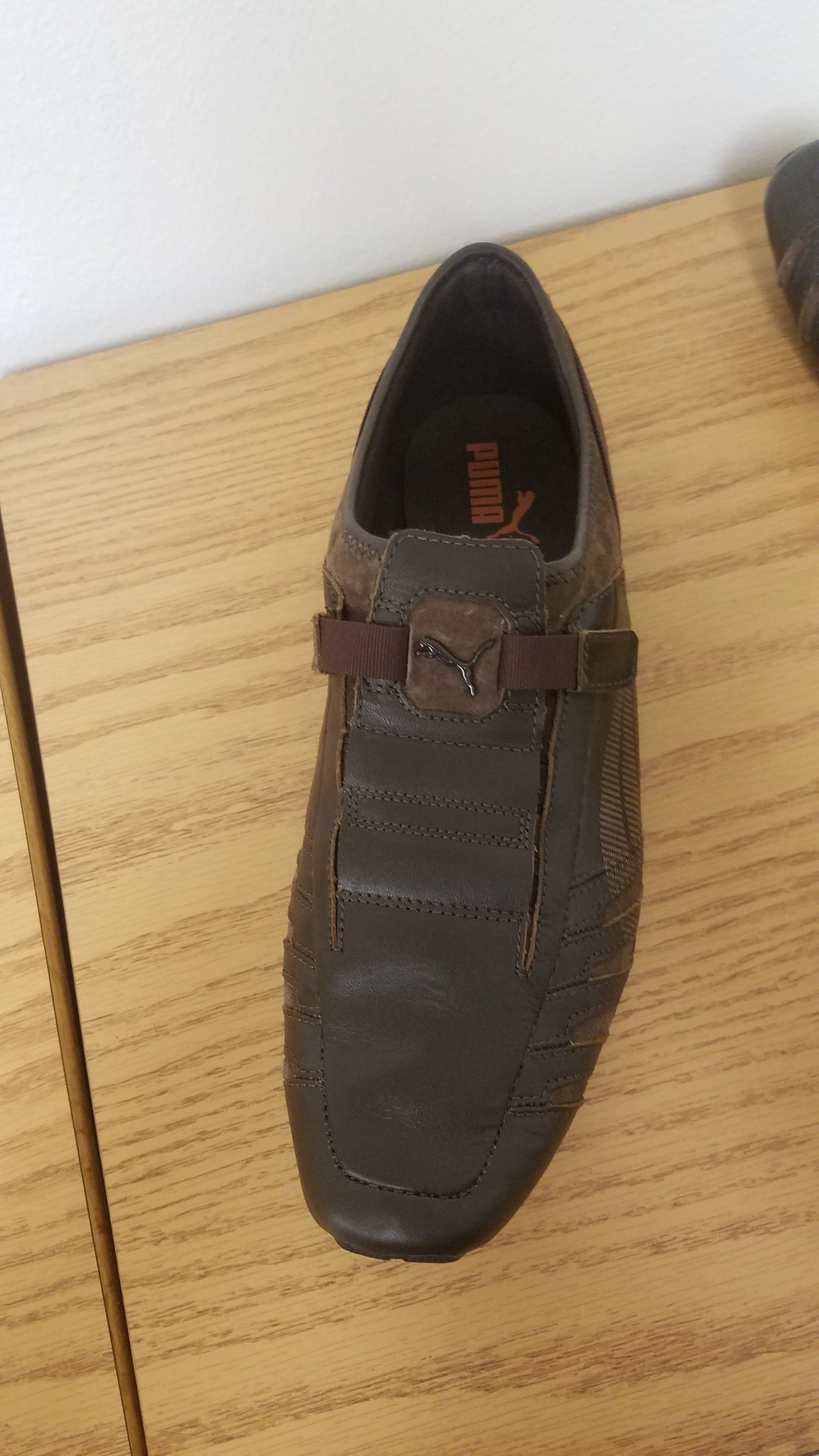6ae2bc759ad7 PUMA Men s Vedano Leather Slip-On Shoe is being swapped online for free