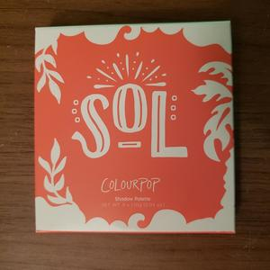 BNIB ColourPop Sol Eyeshadow Palette is being swapped online for free