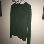 Cotton Exchange Green sweater Medium  is being swapped online for free