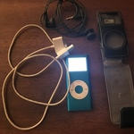 iPod nano generation 2 blue 4gb  is being swapped online for free