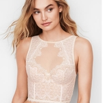 Victoria's Secret Highneck Lace Bustier Bra 32DD is being swapped online for free