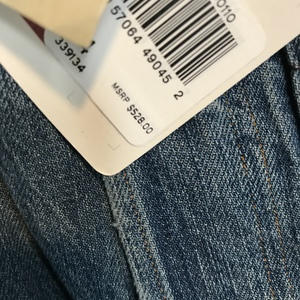 Rare!! BNWT Levi's Jeans 1890 xx501 bandits 34W  is being swapped online for free