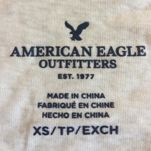 AEO Baseball Tee is being swapped online for free