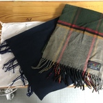 3 winter scarves!  is being swapped online for free
