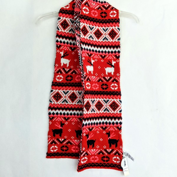 NWT old Navy Christmas scarf is being swapped online for free