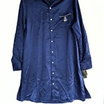 NWT Ralph Lauren blue satin nightshirt - small is being swapped online for free