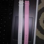 3 Womens Watch Bands for Swapable Watches White, Pink, Lady Bugs is being swapped online for free