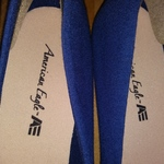 American Eagle Womens Ballet Flats Blue Shoes Size 9 Never worn is being swapped online for free