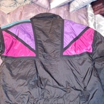 Womens Large Black w Purple Pink blue winter coat is being swapped online for free