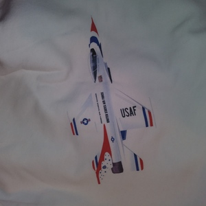 Unisex White Sweatshirt Air Force Thunderbirds XL New is being swapped online for free