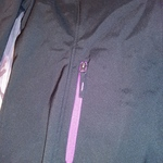 Free Tech XL Black & Purple Jacket Womens New Still has tags is being swapped online for free