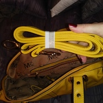 Mustard Yellow Purse MW  Excellent Condition is being swapped online for free