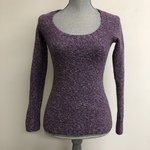 Dusty purple wool blend sweater - Small is being swapped online for free