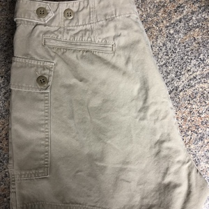 Size 14 J CREW KHAKI CARGO SHORTS is being swapped online for free