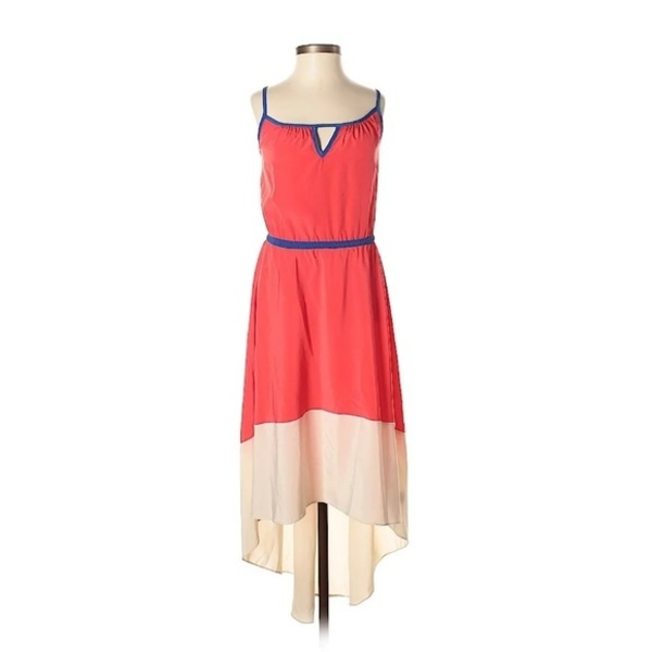 NWT Willow & Clay Hi low Maxi Color block Dress  - S  is being swapped online for free