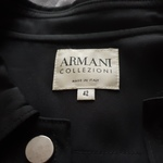 Black shirt/jacket Armani Collezioni is being swapped online for free