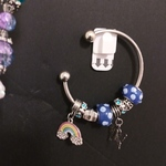 Blue charm bracelet is being swapped online for free