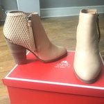 Coach leather booties is being swapped online for free