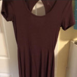 Purple Garage Dress is being swapped online for free