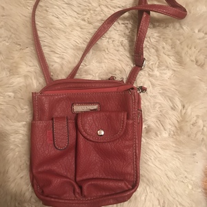 Rosesti Red Cross body purse is being swapped online for free