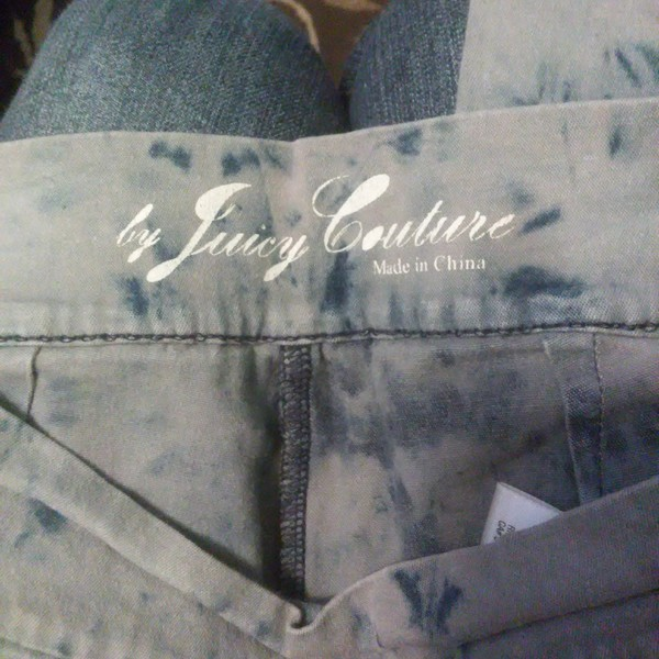 Juicy couture the dye jeggings  is being swapped online for free