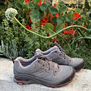 Ahnu Sugarpine waterproof hikers 8-8.5 is being swapped online for free