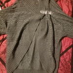 wrap sweater with clasp, S/M is being swapped online for free