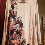 S FLOWER PRINT TOP WITH SEQUIN ACCENTS is being swapped online for free