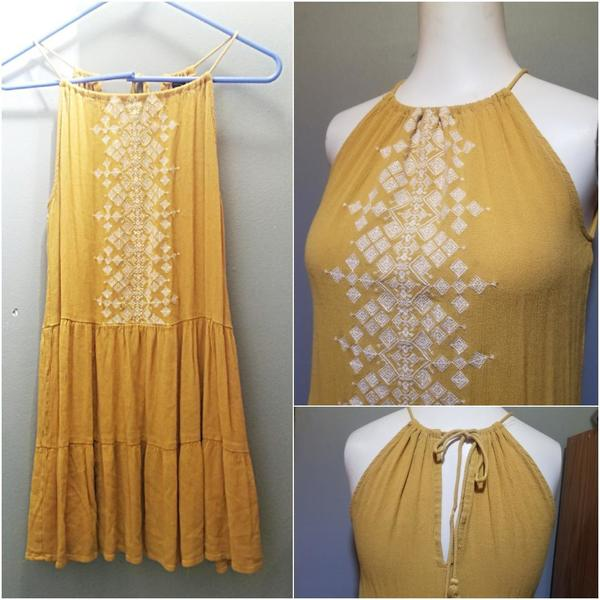 Aero Halter Boho Dress Sz S is being swapped online for free