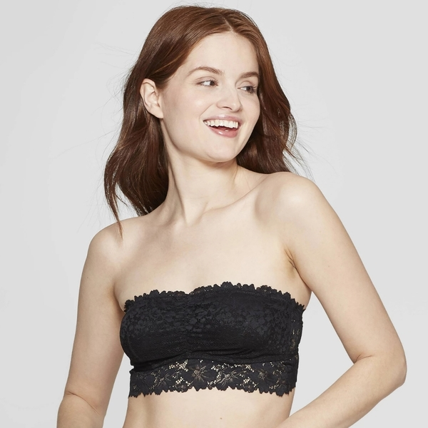 Lace bandeau Sz M is being swapped online for free