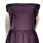 Richard Ruiz Silk Purple Back tie Dress - s is being swapped online for free