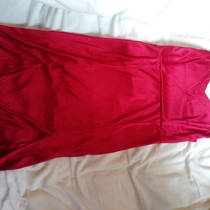 night life evening cocktail party satin dress M/L Jrs is being swapped online for free