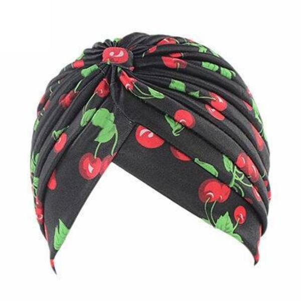 Cherry Print head Wrap bonet  is being swapped online for free