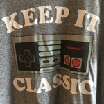 Retro tee shirt is being swapped online for free
