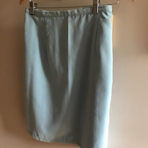 Boca blue light blue skirt is being swapped online for free