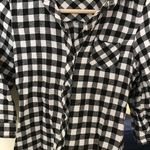 Flannel- white and black.  is being swapped online for free