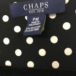 Cute polka dot swirl dress by CHAPS is being swapped online for free