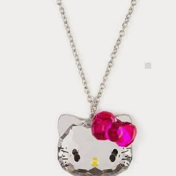 Super Cute Original Hello Kitty Bling bling Necklace ! is being swapped online for free