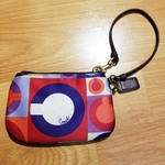 Coach Special Edition Sateen Scarf Print Wristlet  is being swapped online for free