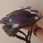 Bell bicycling helmet,  adult 54-61cm is being swapped online for free