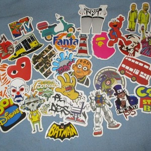 Awesome Sticker Lot !! is being swapped online for free