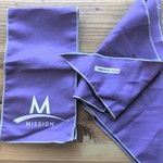 Instant Cooling Scarf and Towel - Purple is being swapped online for free