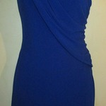 Stunnig one sleeve blue Dress is being swapped online for free