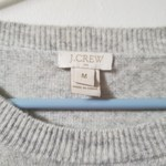 J Crew Shimmery Striped Wool Sweater Sz M  is being swapped online for free