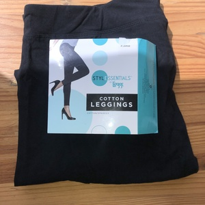 New XL Black Leggings is being swapped online for free