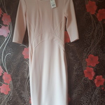 Size 6/8 miss selfridges very classy pale pink dress is being swapped online for free